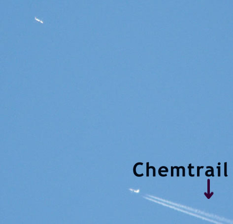 This is a Chemtrail - Aerosol dispersants - Studies at The Truth Denied